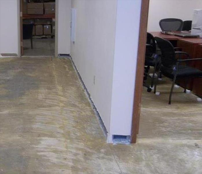 Commercial Flooding to an Office Suite in Downtown Knoxville After