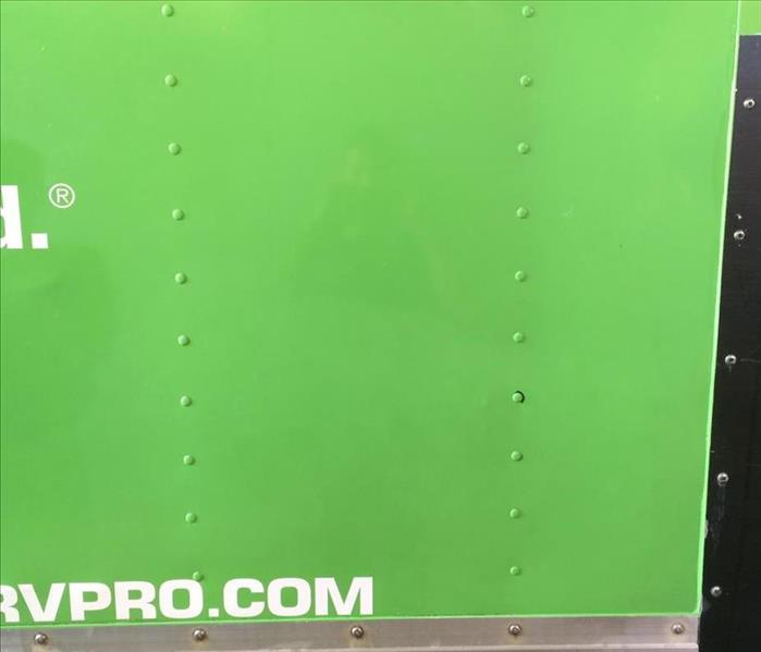 SERVPRO Cleans Its Own Green Machine After