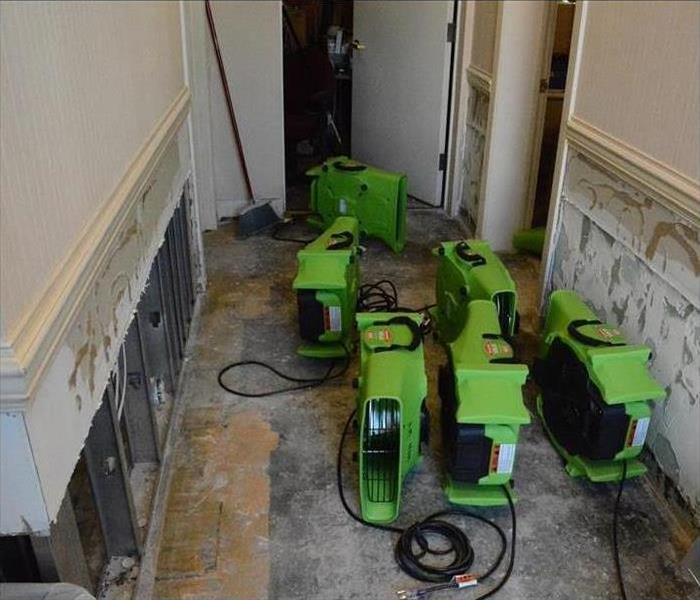 Commercial Water Damage – Knoxville Office Building Before