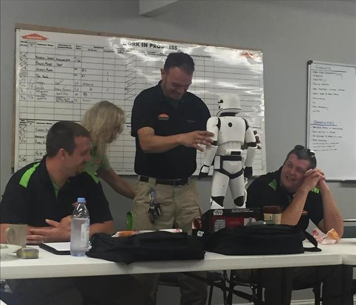 SERVPRO Storm Trooper Award