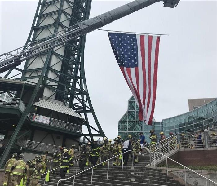 Knoxville National Fallen Firefighters Foundation Stair Climb 2018
