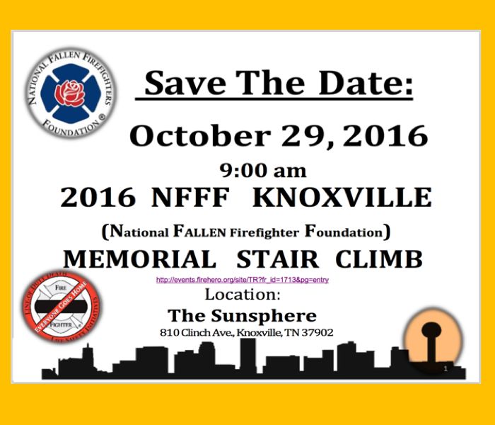 Knoxville National Fallen Firefighters Foundation Stair Climb
