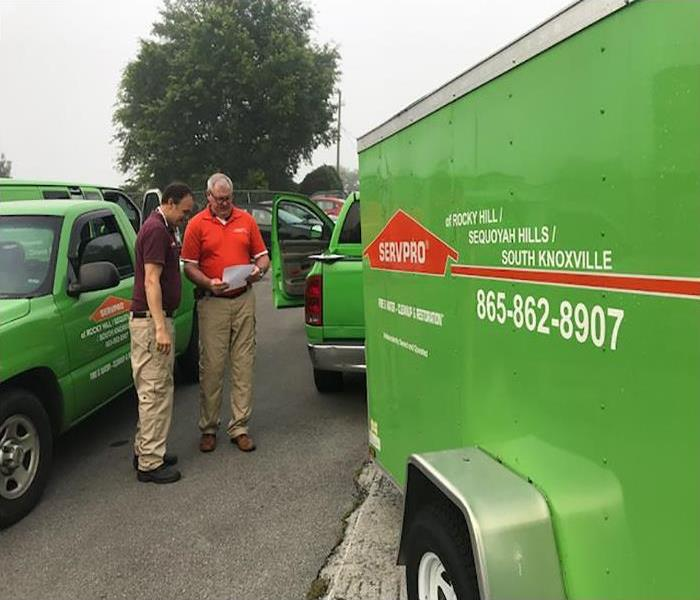 SERVPRO Storm Team Responds Quickly To Help