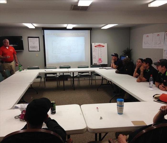 Weekly Training Meeting to Better Serve Our Customers.