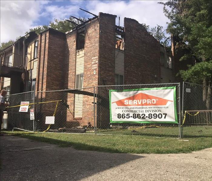 Apartment Fire in Knoxville